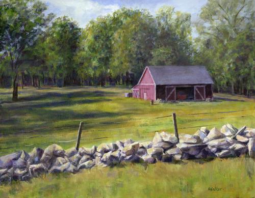 Red Barn - Acrylic