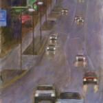 Blue Commute-Acrylic