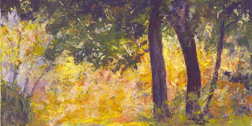 Autumn Woods - Acrylic