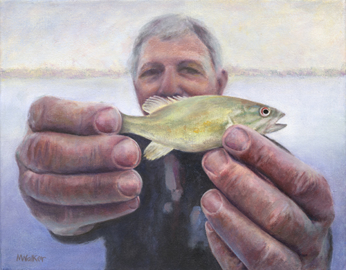 Catch of the Day - Acrylic
