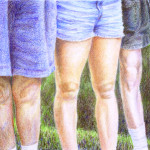 Family Portrait - Colored Pencil