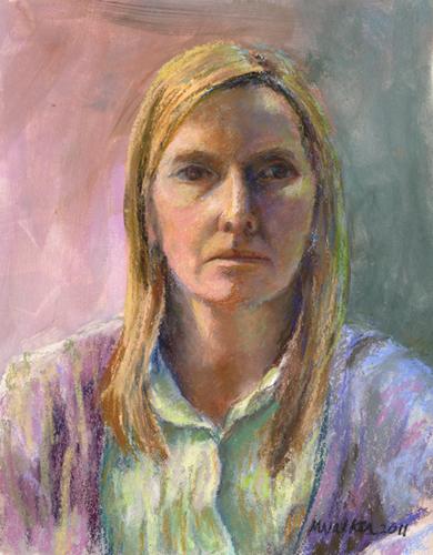 Mary - Pastel