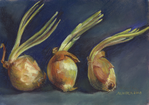 Onions - Pastel