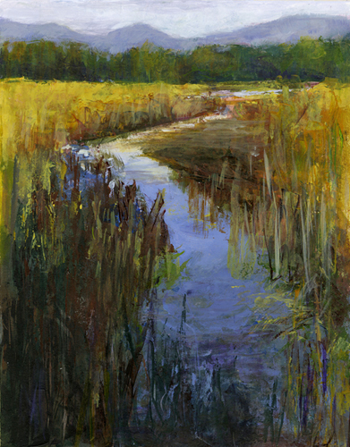 Oregon Wetlands - Acrylic