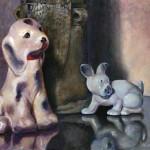 Porcelain Pups - Acrylic