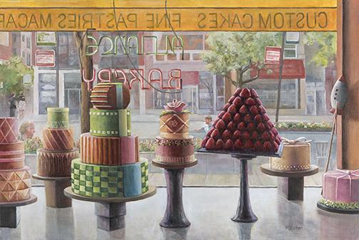 Alliance Bakery-Acrylic Painting