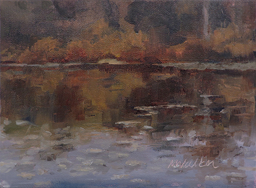 First Sister Lake-Oil