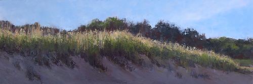 Morning Sun, Michigan Dune - Oil Painting